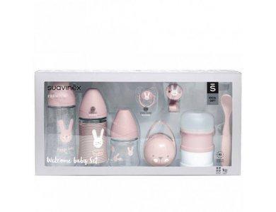 Suavinex Σετ Welcome Baby Set Suavinex Hygge Pink