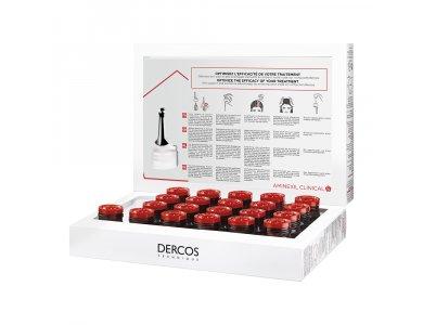 Vichy Dercos Aminexil Clinical 5 για Γυναίκες 21+12 Monodoses