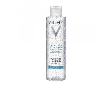 Vichy Purifying Hand Gel Αντισηπτικό Καθαριστικό Gel Χεριών, 200ml