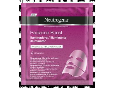 Neutrogena Radiance Boost The Illuminator Hydrogel Μάσκα Προσώπου Αναδόμησης 30ml