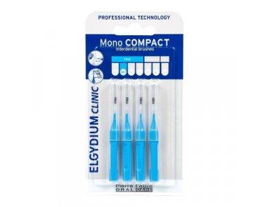 Elgydium Clinic Mono Compact Blue 0.4 Συσκευασία με 4 τεμάχια