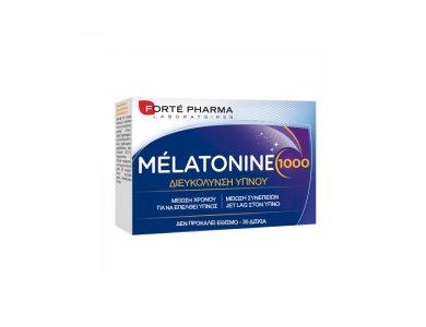 Forte Pharma Melatonine 1000 Συμπλήρωμα Μελατονίνης για την Καταπολέμιση της Αϋπνίας, 30tabs