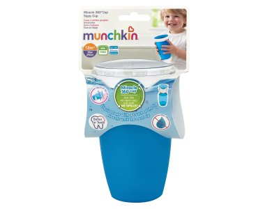 Munchkin Miracle 360 Trainer Cup 12m+, Μπλέ 296ml