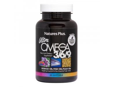 Nature's Plus Ultra Omega 3/6/9/ 1200mg 90softgels
