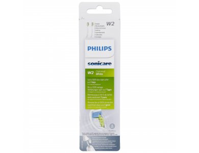 Philips Sonicare HX6062/10 Optimal White, Τυπικές Κεφαλές Οδοντόβουρτσας, 2τμχ