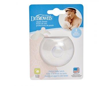 Dr. Brown's Κοχύλια Στήθους, Διαμορφωτές Θηλών, 2τμχ, S4004