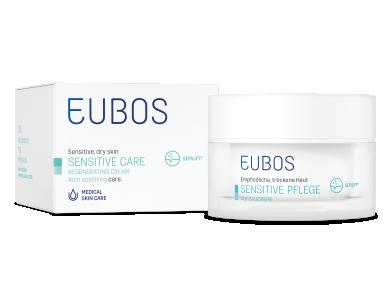 Eubos Night Cream Regenerating, Αναπλαστική & Αντιγηραντική Κρέμα Νύχτας για Ευαίσθητη & Ξηρή Επιδερμίδα 50ml