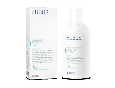 Eubos Sensitive Shower Oil F, Ελαιώδες Καθαριστικό Σώματος, 200ml
