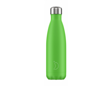 Chillys Ανοξείδωτος Θερμός, Neon Green, 500ml