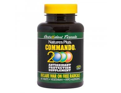 Nature's Plus Commando 2000 60tabs