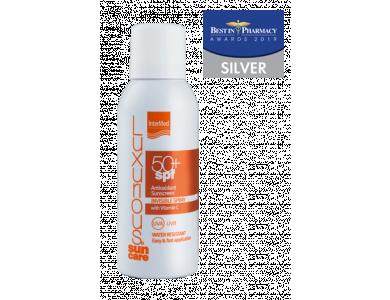 InterMed Luxurious Suncare Antioxidant Sunscreen Invisible Spray SPF50+, Διάφανο Αντηλιακό με αντιοξειδωτική σύνθεση, 100ml