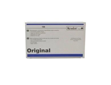 Kessler Clinica+ Original Αποστειρωμένοι Αυτοκόλλητοι Ταχυεπίδεσμοι Μικρών Τραυμάτων 24mm 100τμχ