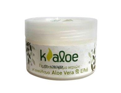 Kaloe Ενυδατική Κρέμα Χεριών με Εκχύλισμα Aloe Vera & Ελιά, 100ml