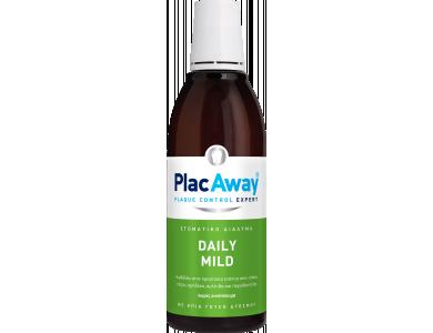 Plac Away Daily Mild, Ήπιο Στοματικό Διάλυμα με Δροσερή Γεύση Δυόσμου, 500ml