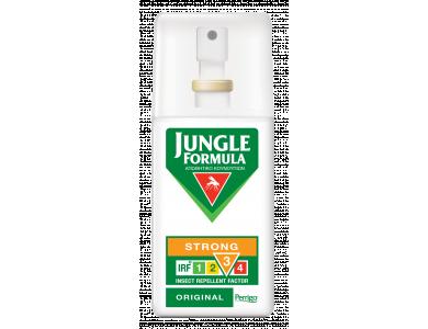 Jungle Formula Strong Original Εντομοαπωθητικό Σπρέι κατά των Κουνουπιών για Ισχυρή Προστασία, 75ml