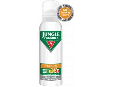 Jungle Formula Strong Soft Care No Touch, Αντικουνουπικό Σπρέι, 125ml