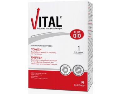 Vital Plus Q10 14 LipidCaps