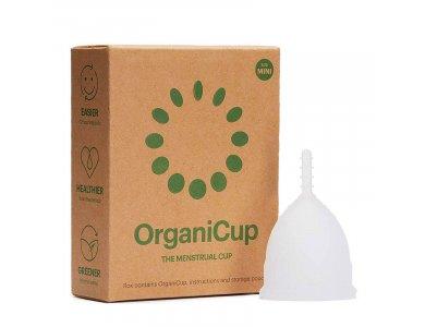 OrganiCup Menstrual Cup Size Mini, Κύπελλο Περιόδου, 1τμχ