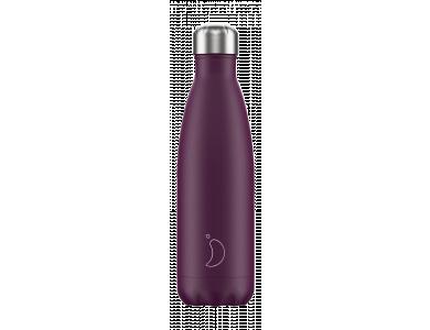 Chillys Ανοξείδωτος Θερμός, Purple Matte, 500ml