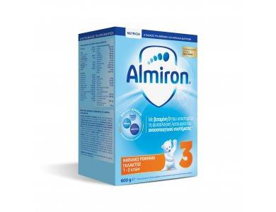 Nutricia Almiron 3, Νηπιακό Ρόφημα Γάλακτος 1-2 ετών, 600gr