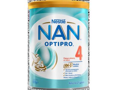 Nestle Nan Optipro 4, Ρόφημα Γάλακτος σε Σκόνη από το Δεύτερο Χρόνο, 800gr