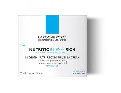 La Roche Posay Nutritic Intense Riche, Κρέμα Πλούσιας Υφής Εντατικής Θρέψης, 50ml