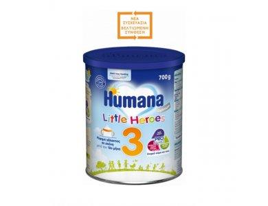Humana Optimum 3 Little Heroes Γάλα σε Σκόνη 12m+, 700gr