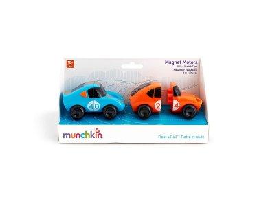 Munchkin Magnet Motors, Μαγνητικά Αυτοκινητάκια Μπάνιου 18m+, 2τμχ