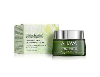 Ahava Mineral Radiance Overnight De-Stressing Cream, Θρεπτική Κρέμα Νυχτας, 50ml