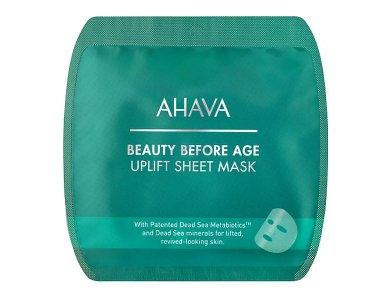 Ahava Beauty Before Age Uplift Sheet Mask, Μάσκα Προσώπου για Σύσφιξη, 17gr