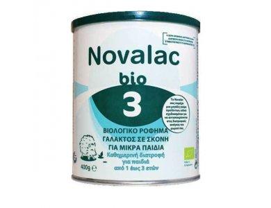 Novalac Bio 3 Βιολογικό Ρόφημα Γάλακτος σε Σκόνη για Μικρά Παιδιά από 1 ως 3 ετών, 400gr
