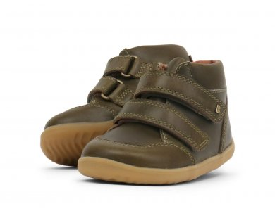Bobux Step up, Timber Boot Olive, No.21