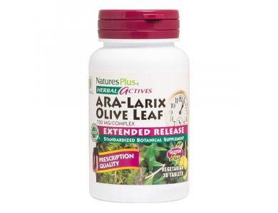 Nature's Plus  ARA-LARIX  Olive Leaf 30tabs
