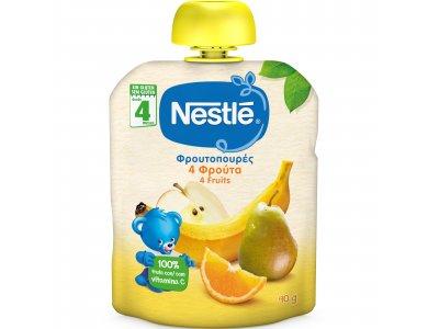 Nestle Φρουτοπουρές  4 φρούτα 90gr
