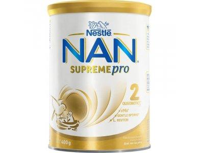 Nestle Nan SupremePro 2, Γάλα 2ης Βρεφικής Ηλικίας σε Σκόνη Από τον 6ο Μήνα, 400gr