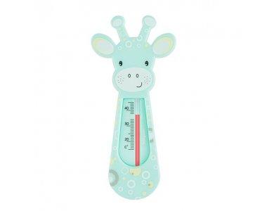 BabyOno Bath Thermometer Giraffe, Θερμόμετρο μπάνιου Καμηλοπάρδαλη, Τιρκουάζ