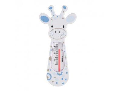 BabyOno Bath Thermometer Giraffe, Θερμόμετρο μπάνιου Καμηλοπάρδαλη, Γαλάζιο