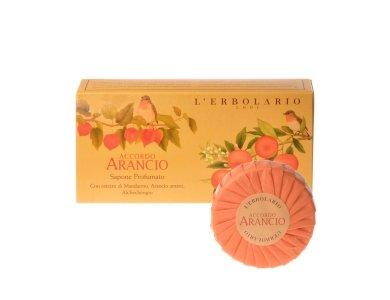 L'erbolario Accordo Arancio  2 Αρωματικά Σαπούνια των 100g