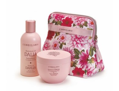 L'erbolario Dalia Beauty set Petalo Αφρόλουτρο 250ml & Αρωματική Kρέμα για το σώμα 300ml