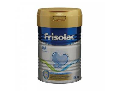 Frisolac HA, για Βρέφη με Αλλεργία στην Πρωτεϊνη του Αγελαδινού Γάλακτος, 400gr