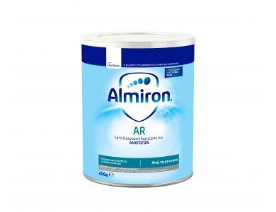 Nutricia Almiron AR, Αντιαναγωγικό Βρεφικό Γάλα για Βρέφη από 0-12 Μηνών, 400gr