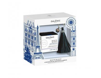 Galenic Box Beauté De Nuit Χρονοενεργό Ζελ Νυκτός & Δώρο Ένα Μοναδικό Accesoire με την Υπογραφή Galenic