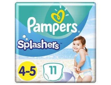 Pampers Splashers Μέγεθος 4-5 (9-15 kg) Πάνες-Μαγιό, 11τμχ