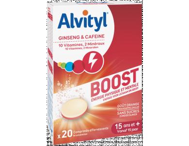 Alvityl Boost με Ginseng & Καφεΐνη, 20tabs