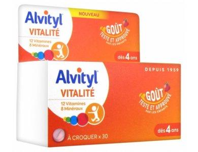 Alvityl Vitalite Crunch 30tabs