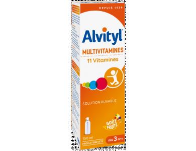 Alvityl Vitalite – Πολυβιταμινούχο συμπλήρωμα διατροφής με 11 βιταμίνες, 150ml