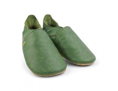 Bobux Soft sole, Dino Olive, Medium (9-15μηνών)