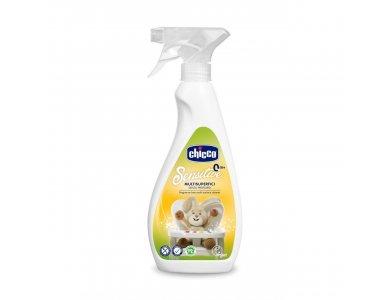 Chicco Sensitive Σπρέι Καθαρισμού Επιφανειών Πολλαπλών Χρήσεων, 500ml