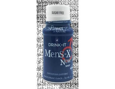 Power Health Drink It Mens-X NOW Συμπλήρωμα Διατροφής για τη Στυτική Δυσλειτουργία, 60ml