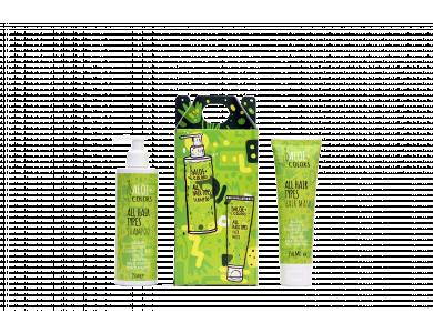Aloe+Colors Hair Gift Set, Hair Shampoo 250ml & Hair Mask, 150ml